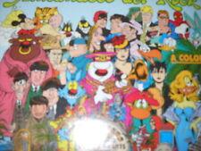 Lupo Alberto Rock! 1993 with Tex, Dylan Dog, Spiderman, Devil, Martin mystere