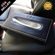 Maserati Leather Auto Car Tissue Box Cover Napkin Paper Holder Towel Dispenser