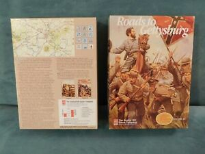 Roads to Gettysburg Avalon Hill, Mint, Great Campaigns of the American Civil War