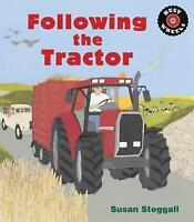 (Good)-Following the Tractor (Paperback)-Steggall, Susan-1847806570