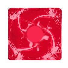 Kingwin CFR-012LB 120 x 120 mm Long Life Bearing LED Case Fan Red