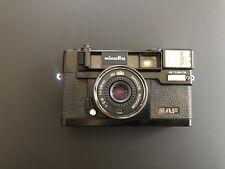 Minolta Hi-Matic AF Point & Shoot 35mm Film Camera Rokkor 38mm f/2.8 Tested