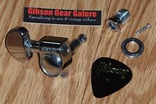 Gibson Les Paul Tuner Grover Peg Chrome Guitar Parts SG V ES Custom Tuning HP T