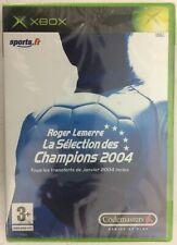 Roger Lemerre la Sélection des Champions 2004 Xbox Neuf Sous Blister