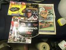 DALE EARNHARDT STUFF 2 TV GUIDES, A TRIBUTE TO DALE EARNHARDT, 2001 MAGAZINE, MO