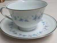 Vintage Noritake Fine China Concord Teacup & Saucer Pn6207 c1961-67 Japan