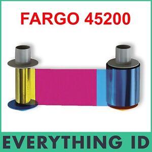 FARGO 45200 YMCKO 500 PRINT HID COLOUR RIBBON FOR DTC4500e DTC4500 CARD PRINTER
