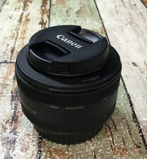 Canon EF Lens 50mm 1: 1.8 STM  49mm Used