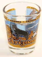 ARIZONA STATE WRAPAROUND SHOT GLASS SHOTGLASS