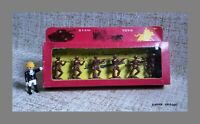 Action Figures Toy Soldiers NIB Made in Greece Stam Toys Plastic VTG 6 Red Fig