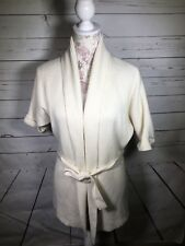 Chaus Women's White Pullover Sweater Acrylic Sz S Small 99
