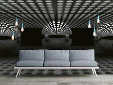 camera da letto Carta da parati fotografica 3D SFERA ARGENTO caratteristica