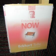 ENTERING THE NOW 2-DISC CD AUDIOBOOK BY ECKHART TOLLE, USE YOUR INNER BODY, GUC
