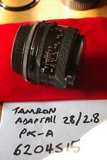 Tamron Adaptall 28mm f2.8 with Adaptall Mount (Pentax KA) - Working Well