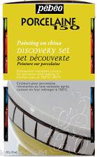PEBEO PORCELAINE 150 Set Découverte peinture brillante peinture 12x20ml sur la Chine & céramique