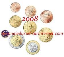 Série 1 Cent à 2 Euro Grèce 2008 - Série UNC