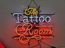 """New The Tattoo Room Neon Sign 24"""" Light Lamp Pub Bar Wall Poster Holiday Gift"""
