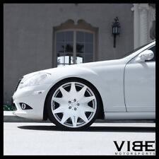 "20"" MRR HR3 SILVER CONCAVE VIP WHEELS RIMS FITS MERCEDES W220 S430 S500"