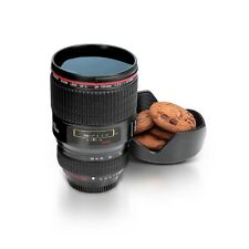 Camera Lens Coffee Cup Tea Mug 450ml Camera Lens Style BLACK By Thumbs Up