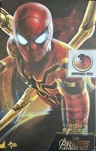 Hot Toys Marvel Avengers Infinity War Iron Spider-Man MMS482 Sideshow Disney