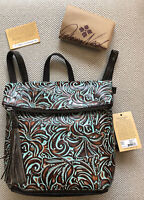 $229 Patricia Nash LUZILLE TOOLED TURQUOISE Genuine Leather Backpack Purse NWT!
