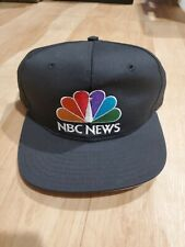 Nbc News ADJ Hat Deadstock vintage rare snapback