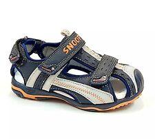 sandali punta chiusa da bambino ginnastica scarpe per bimbo estivi a strappo