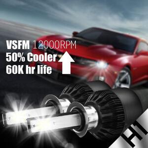 NEW 2x H1 6000K Ice Blue 100W Cree LED Headlight Bulbs Kit Fog Driving Light