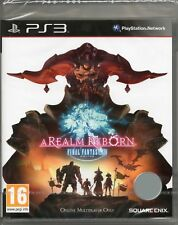 FINAL FANTASY XIV: A REALM REBORN GAME PS3 ~ NEW / SEALED