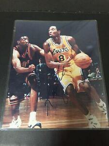 RARE 1997 Kobe Bryant 8x10 Rookie Autographed Hand Signed Showcase Company COA