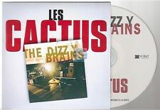 THE DIZZY BRAINS les cactus CD PROMO card sleeve reprise de jacques dutronc