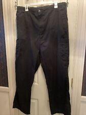 Carhartt Mens Black Scrubs Bottoms Pants Sz Large Tall