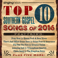 Various Artists - Singing News Top 10 Southern Gospel Songs Of 2016 [New CD]