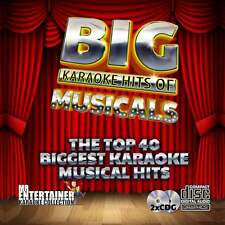 Mr Entertainer Karaoke CDG - The Best of Musicals - Double CD+G Discs 2 CD's