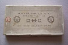 Vtg DMC Made in France Embroidery Floss Thread  Box 23 Skeins