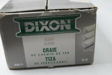 """Pack of 72 - Dixon Ticonderoga 464-88819 White Railroad Crayon Chalk 4"""" X 1"""""""