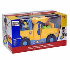New listing Liberty Imports Multifunctional Take Apart Toy Tool Truck With Electric Drill Go