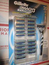 Gillette Mach3 Turbo, 20 Cartridges Plus One Razor