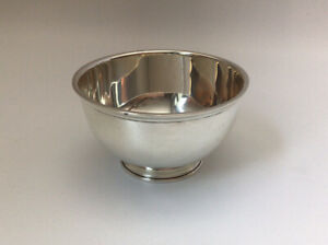 "Vintage - Tiffany & Co. - Paul Revere Bowl - Sterling - 3 5/8""  #22938"