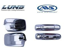 *NEW* Lund AVS Combo Kit Dodge Chrome Door Handle Covers And Mirror Covers