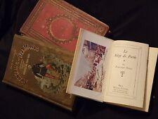 GUERRE DE 1870-71 - SIEGE DE PARIS /3vol