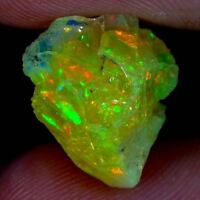BEST OFFER 100% NATURAL FIRE ETHIOPIAN OPAL ROUGH STUNNING CABOCHON MATERIAL J-2