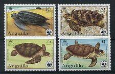 Anguilla 541/44 postfrisch / WWF - Schildkröten ..........................1/3443