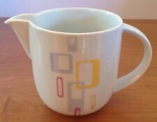 Jamie Oliver RETRO Royal Worcester Pitcher Yellow Lavender Squares Small Sorts