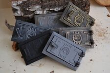 10,8 x 17 Cast iron fire door clay / stove bread oven / Chimney Clean Out /DZ068