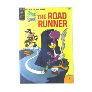 Beep Beep: The Road Runner (1966 series) #1 in F + cond. Gold Key comics [*3l]