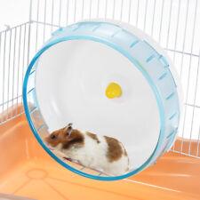 Funny 8.3inch Hamster Mice Gerbil Rat Exercise Wheel Silent Spinner Pp Run Disc