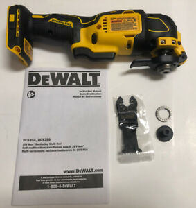 NEW DEWALT DCS354 DCS354B 20V Volt MAX ATOMIC Brushless Oscillating Multi-Tool
