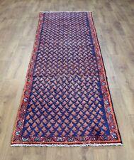 Persian Traditional Vintage Wool 203 X112cm Oriental Rug Handmade Carpet Rugs