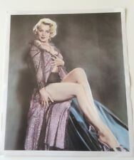 Marilyn Monroe Sexy Negligee Hand Tinted Art Print by Pomegranate 1990